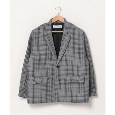ジャケット テーラードジャケット Glen Check Tailored Shirts