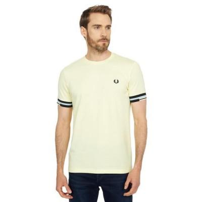 メンズ シャツ トップス Abstract Cuff T-Shirt