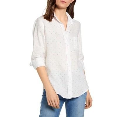 グレイソン レディース シャツ トップス The Hero Dot Print Linen Shirt NATALIE WH