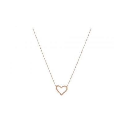 Kendra Scott ケンドラスコット レディース 女性用 ジュエリー 宝飾品 ネックレス Sophee Heart Small Pendant Necklace - Rose Gold Metal