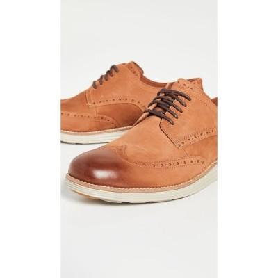 コールハーン Cole Haan メンズ 革靴・ビジネスシューズ ウイングチップ シューズ・靴 Original Grand Short Wingtip Oxfords British Tan