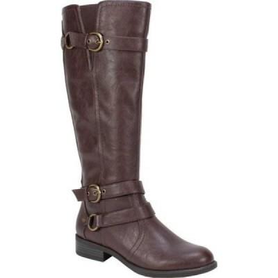 ホワイトマウンテン White Mountain レディース ブーツ シューズ・靴 Loyal Wide Calf Boot Brown Smooth