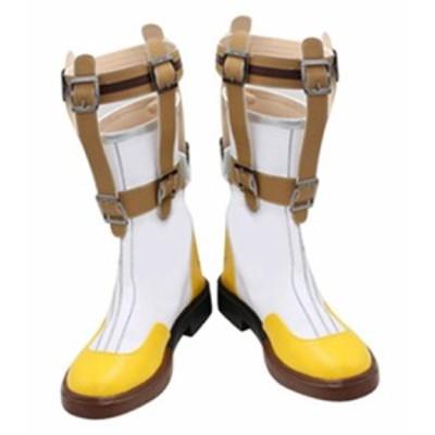 テイルズ オブ ゼスティリア(TALES OF ZESTIRIA) スレイ   風 ブーツ、靴★ コスプレ道具/小物 *D563