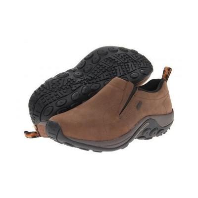 Merrell メレル メンズ 男性用 シューズ 靴 ローファー Jungle Moc Nubuck Waterproof - Brown