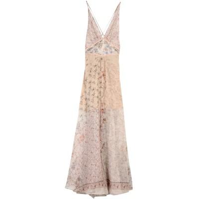 エトロ ETRO ロングワンピース&ドレス ライトグレー 44 シルク 100% ロングワンピース&ドレス