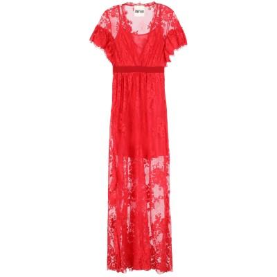 アニヤバイ ANIYE BY ロングワンピース&ドレス レッド S ナイロン 100% / コットン / ポリエステル ロングワンピース&ドレス