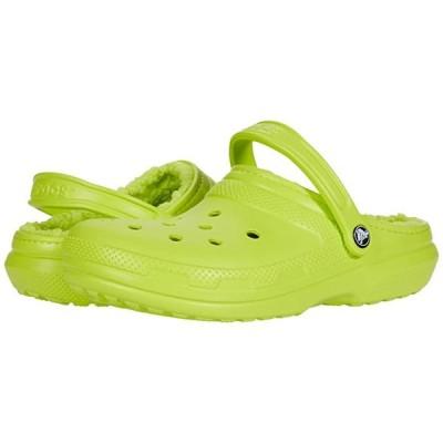 クロックス Classic Lined Clog メンズ クロッグ ミュール Lime Punch/Lime Punch