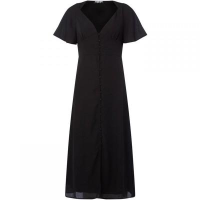ファッションユニオン Fashion Union レディース ワンピース ミドル丈 ワンピース・ドレス Corset style midi dress Black