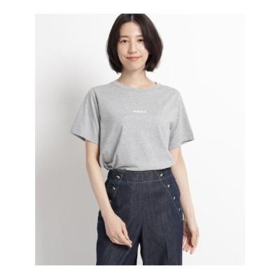 デッサン Dessin 【XS~Lサイズあり・洗える】汗染み軽減天竺Tシャツ (グレー)