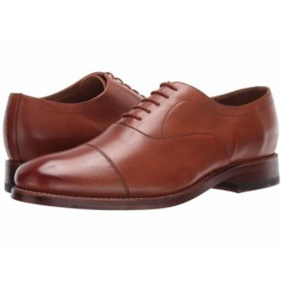 Bostonian ボストニアン メンズ 男性用 シューズ 靴 オックスフォード 紳士靴 通勤靴 Rhodes Cap Tan Leather【送料無料】