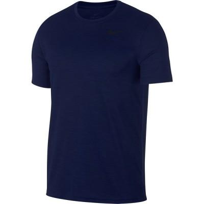 ナイキ Tシャツ トップス メンズ Men's Superset Breathe Training Top Blue Void