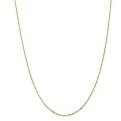 ストーンのついていない貴金属 海外セレクション 18 Karat Yellow Gold Versil 1.10mm Singapore Chain