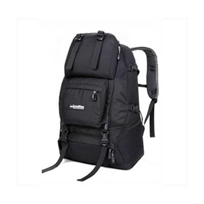Locallion 40L Big Capacity Super Light Backpack Waterproof Camping, Outdoor, Hiking, Travel For Men&Women (Black) 並行輸入品