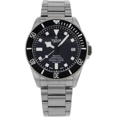 Tudor Pelagos Black Dial Titanium Mens Watch 25600TN-BKTI