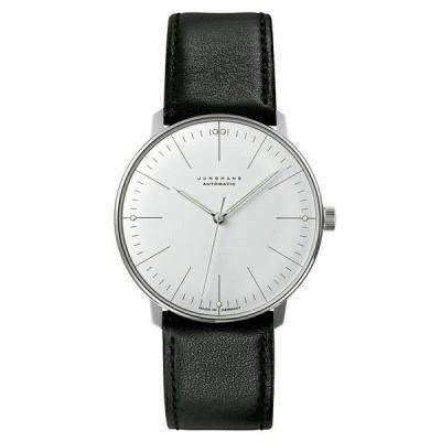【5/15 クーポンあり】 ユンハンス マックスビル JUNGHANS max bill 027 3501 02 オートマチック サファイアガラス 正規品 腕時計