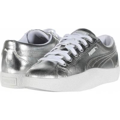 プーマ PUMA レディース スニーカー シューズ・靴 Love Metallic Puma Silver