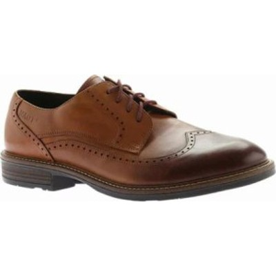 Naot メンズシューズ Naot Handcrafted Magnate Wingtip Cognac