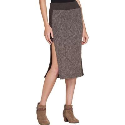 トードアンドコー Toad & Co レディース スカート Kilda Sweater Skirt Falcon Brown Heather
