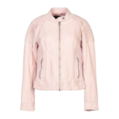 GOOSECRAFT ブルゾン ピンク L 羊革(シープスキン) ブルゾン