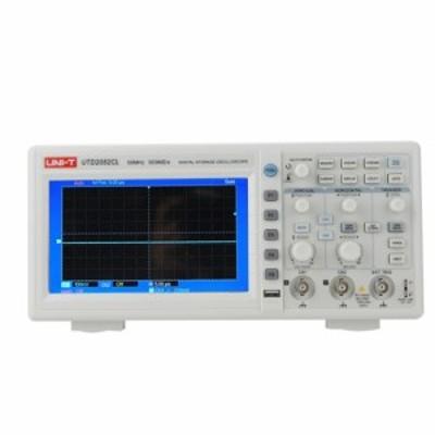UNI-T UTD2052CL デジタルストレージ オシロスコープ(50MHz・ 500Ms/s ・デュアルチャンネル・7インチ