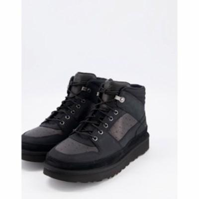 アグ UGG メンズ ブーツ シューズ・靴 Highland Sport Boots In Black ブラック