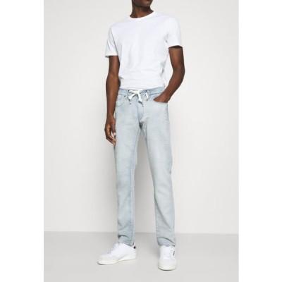 ジースター メンズ スリム 3301-R SPORT SLIM - Slim fit jeans - indigo cella trainer ultra aged