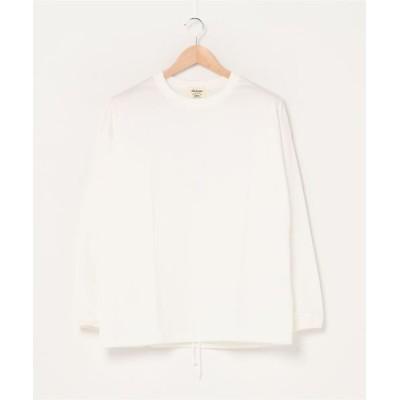 Jackman / L/S Himo T-Shirt MEN トップス > Tシャツ/カットソー