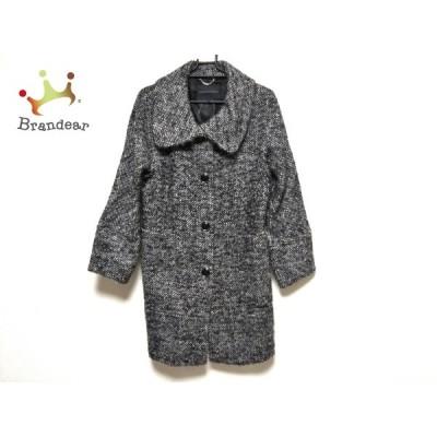 バナナリパブリック コート サイズXS レディース 美品 - 黒×白×グレー 長袖/冬 新着 20210106
