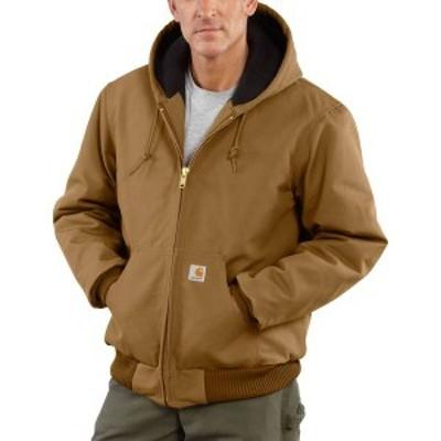 カーハート メンズ ジャケット・ブルゾン アウター Carhartt Men's Duck Active Jacket (Regular and Big & Tall) Carhartt Brown