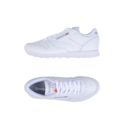 リーボック REEBOK スニーカー&テニスシューズ(ローカット) ホワイト 5 革 / 紡績繊維 スニーカー&テニスシューズ(ローカット)