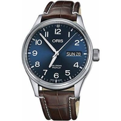 腕時計 オリス メンズ Oris Big Crown Propilot Automatic Blue Dial Mens Watch 01 752 7698 4065-07 1 22