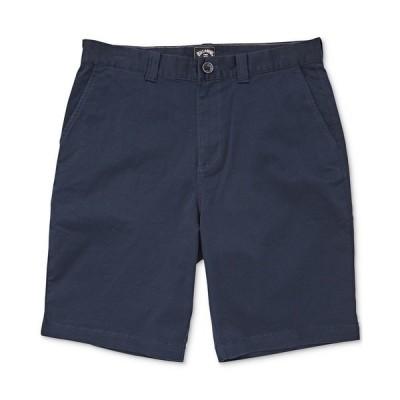 ビラボン カジュアルパンツ ボトムス メンズ Men's Carter Core-Fit Stretch Twill Shorts Navy