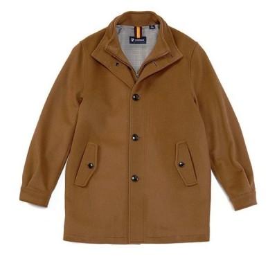 ダニエル クレミュ メンズ ジャケット・ブルゾン アウター Daniel Cremieux Button Front Wool Blend Coat