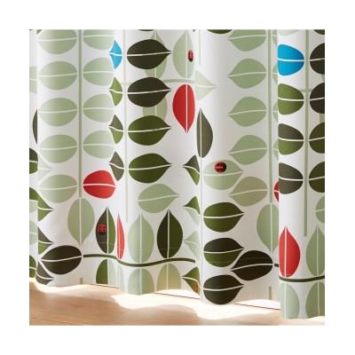 リーフ&テントウ虫柄遮光カーテン ドレープカーテン(遮光あり・なし) Curtains, blackout curtains, thermal curtains, Drape(ニッセン、nissen)