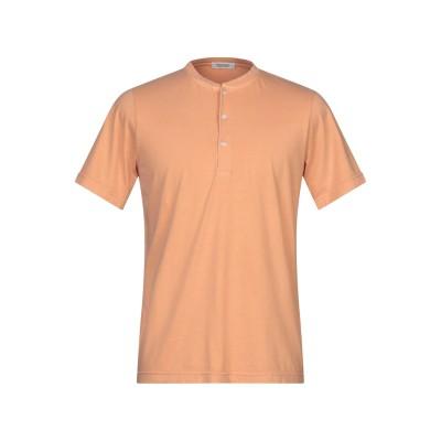 CROSSLEY T シャツ サーモンピンク M コットン 100% T シャツ