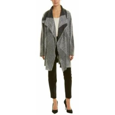 ファッション 衣類 St. John Wool-Blend Cardigan L