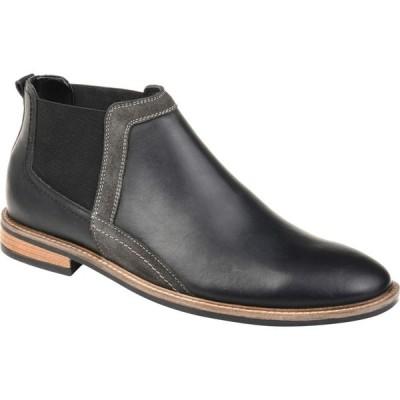 トーマスアンドバイン Thomas & Vine メンズ ブーツ ショートブーツ チェルシーブーツ シューズ・靴 Beckham Chelsea Ankle Boot Black