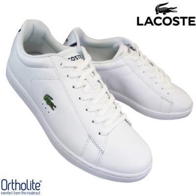 ラコステ LACOSTE CARNABY EVO BL 1 SPM 7-33SPM1002001 ホワイト メンズ ローカットスニーカー カジュアルシューズ 運動靴 天然皮革