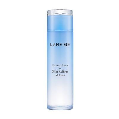 ラネージュ(Laneige) エッセンシャル パワー スキン リファイナー [モイスチャー] 200ml : 乾燥によって角質の浮いた肌に潤いを与える、ミルク状の化粧水です。 ::韓国コスメ ラネージ