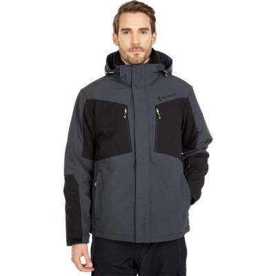 フリーカントリー Free Country メンズ ジャケット ソフトシェルジャケット アウター Softshell Systems Jacket Deep Charcoal