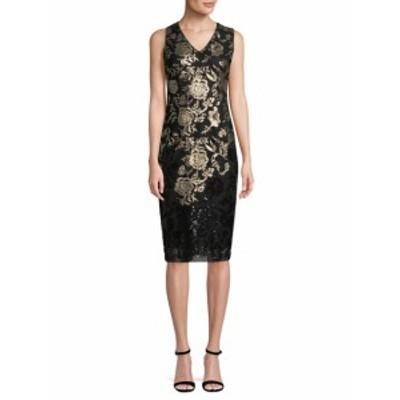 ドナリッコ レディース ワンピース Metallic Sequin Dress