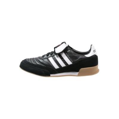 アディダス ブーツ&レインブーツ メンズ シューズ MUNDIAL GOAL - Indoor football boots - noir/blanc