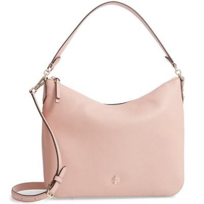 ケイトスペード ショルダーバッグ Kate Spade medium polly leather shoulder bag (Flapper Pink) ミディアム レザー ショルダーバッグ (フラッパーピンク)