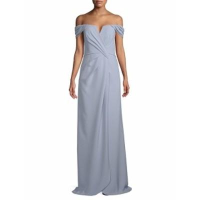 レネルイズ レディース ワンピース Off The Shoulder Floor-Length Gown