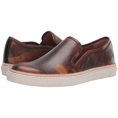 フライ Essex Slip-On メンズ スニーカー 靴 シューズ Camo Printed Veg Tan
