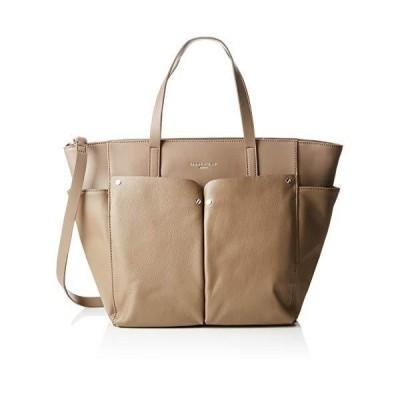 Liebeskind Berlin Duo Shopper Large, Women's Shoulder Bag, Grey (Cold Grey), 15x46x48 cm (B x H T) 並行輸入品