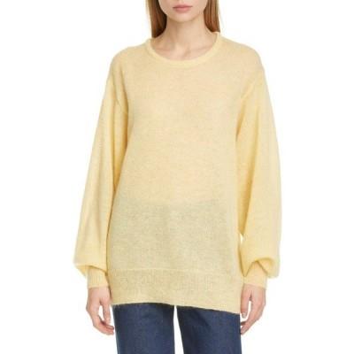 サイモンミラー ニット&セーター アウター レディース Isla Crewneck Sweater Sea Lemon