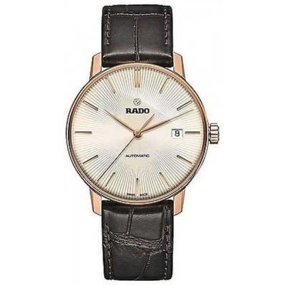 腕時計 ラドー Rado Coupole クラシック レザー オートマチック メンズ 腕時計 R22861115