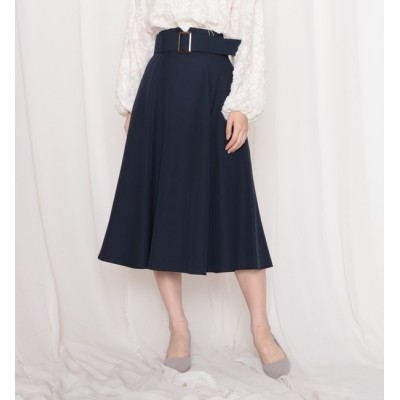 【チーク/Cheek】 共ベルト付き6ハギスカート