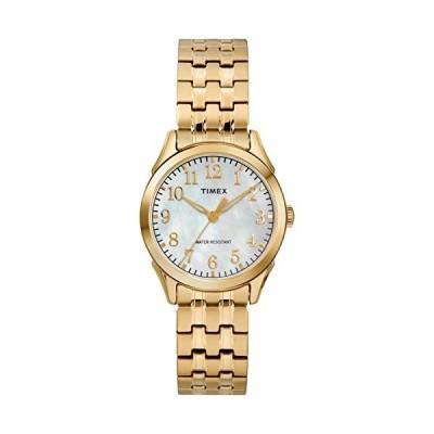腕時計 タイメックス レディース TW2R48500 Timex Women's TW2R48500 Briarwood Gold-Tone/MOP Stainle